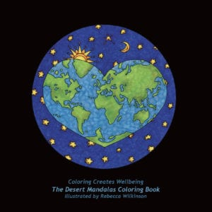 The Desert Mandalas Coloring Book
